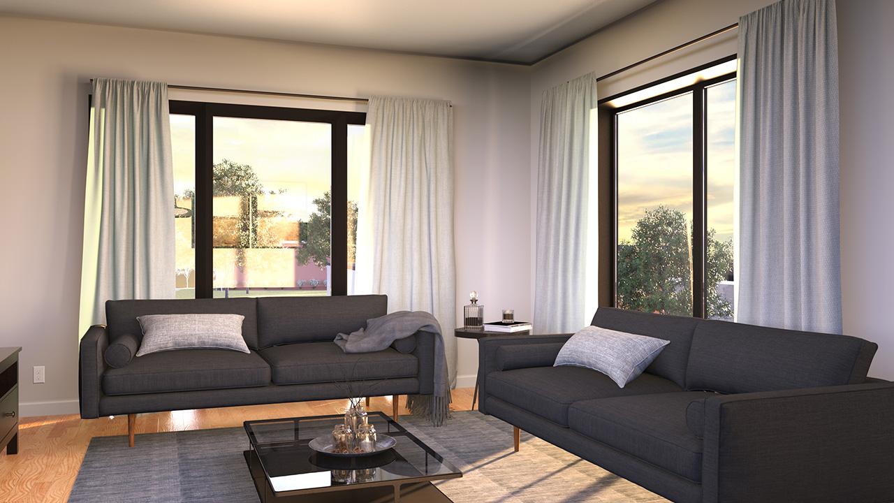 CitiVillage - Luxury Apartment- Living Room