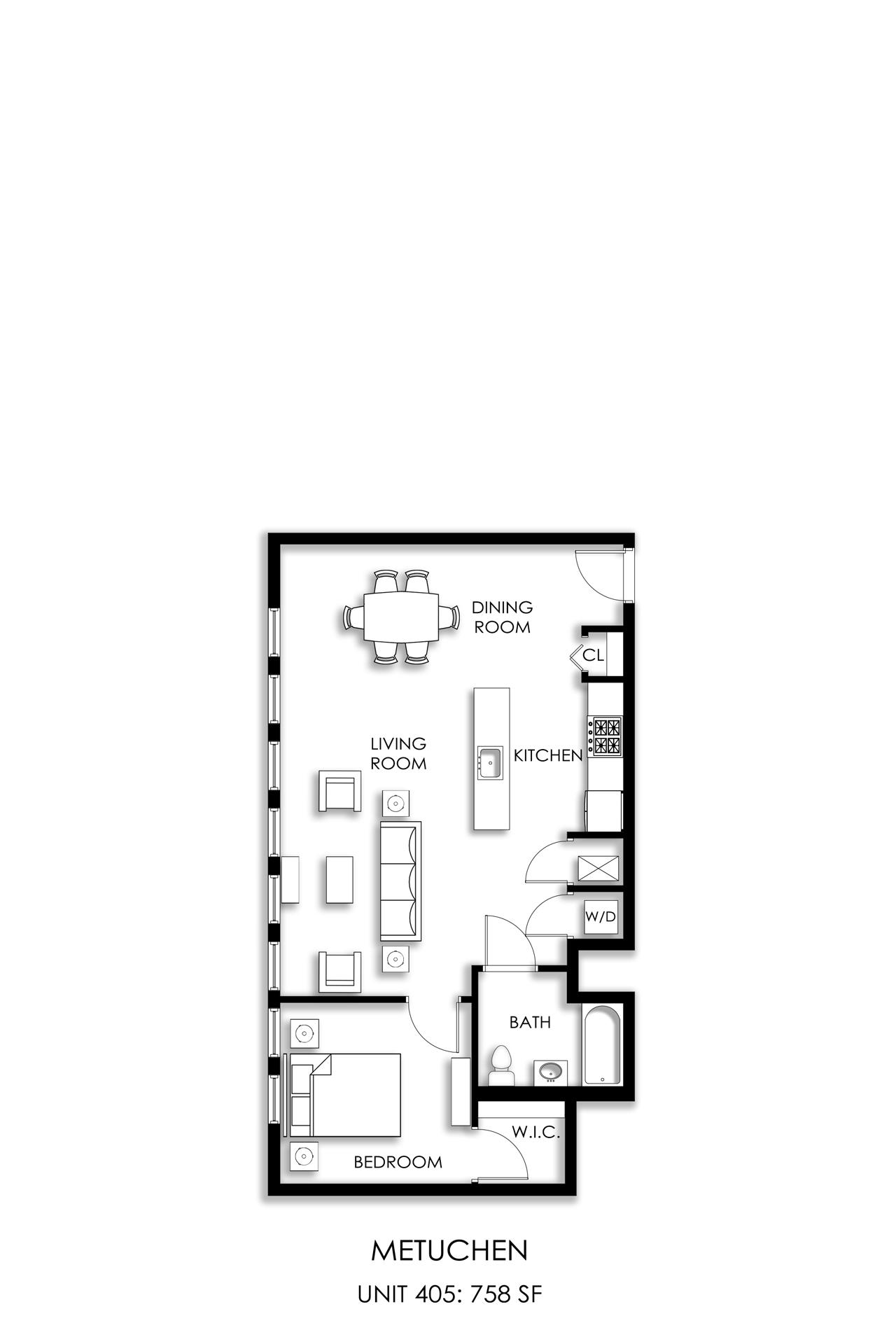 Metuchen-Unit-405